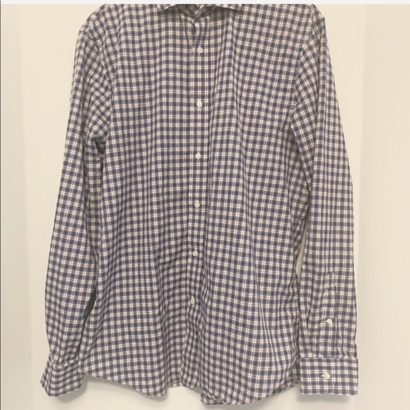 Club Monaco Long Sleeve Button Down Shirt - Sz XL